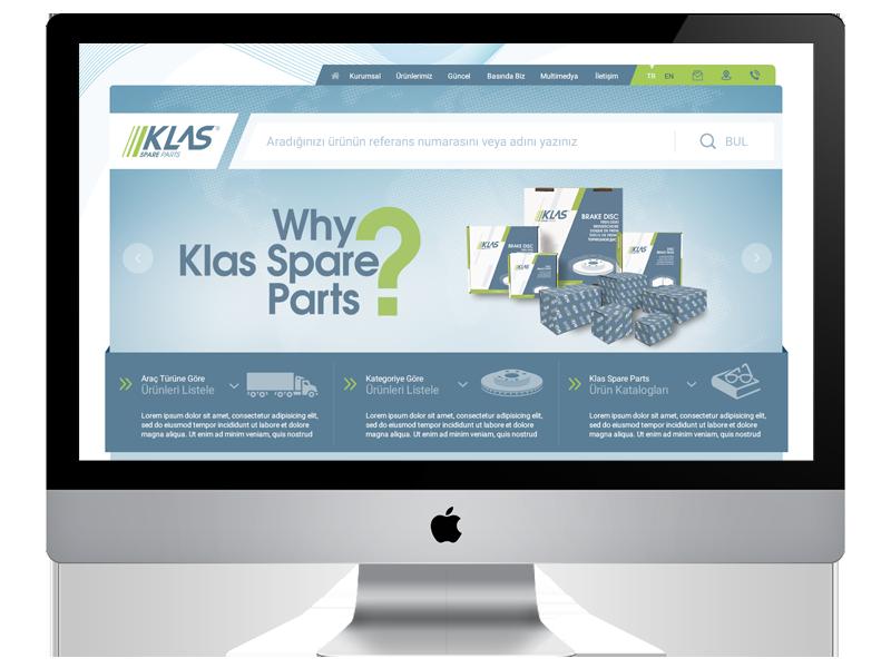 Klas Spare Parts new website is Online